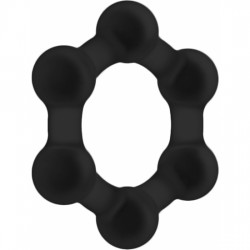 comprar NO. 82 WEIGHTED COCK RING NEGRO