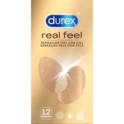 comprar DUREX SENSITIVO REAL FEEL 12 UDS