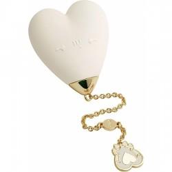 comprar ZALO BABY HEART VIBRADOR - BLANCO