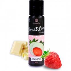 comprar SWEET LOVE - GEL LUBRICANTE FRESAS CON CHOCOLATE BLANCO - 60ML