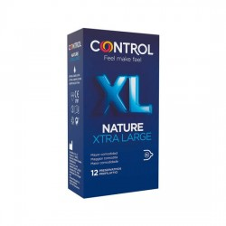 comprar CONTROL PRESERVATIVOS NATURE XL 12UDS