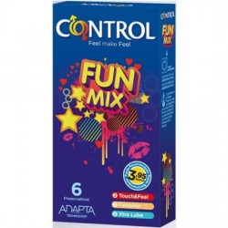 comprar CONTROL PRESERVATIVOS FUN MIX 6 UDS