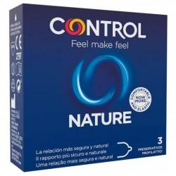 comprar PRESERVATIVOS CONTROL NATURE 3UDS