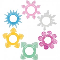 comprar ANILLOS - TOWER OF POWER - 6 PACK MULTI COLORES