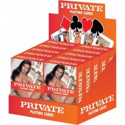 comprar PRIVATE CARTAS DE JUEGO DISPLAY 10UDS
