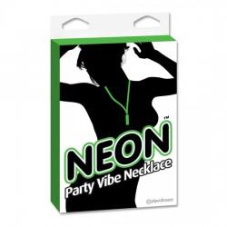 comprar NEON PARTY VIBE COLLAR CON BALA VERDE