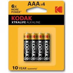 comprar KODAK XTRALIFE ALKALINE AAA - 4UDS