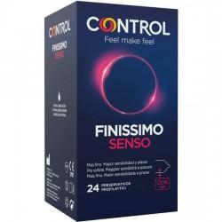 comprar CONTROL PRESERVATIVOS FINISSIMO SENSO 24UDS