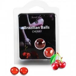 comprar SECRET PLAY SET 2 BRAZILIAN BALLS AROMA CEREZA