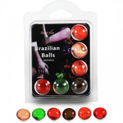 comprar SECRET PLAY SET 6 BRAZILIAN BALLS AROMAS