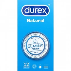comprar DUREX NATURAL 12 UDS