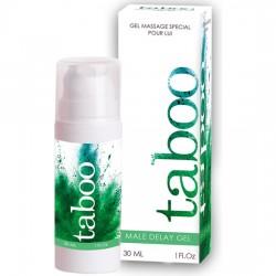 comprar TABOO MALE DELAY GEL NEW 30ML - CREMA RETARDANTE MASCULINA