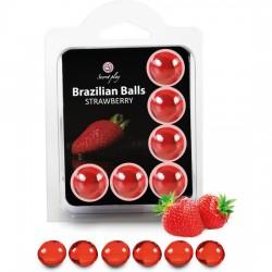 comprar SECRET PLAY SET 6 BRAZILIAN BALLS AROMA FRESA