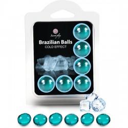 comprar SECRET PLAY SET 6 BRAZILIAN BALLS EFECTO FRIO