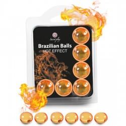 comprar SECRET PLAY SET 6 BRAZILIAN BALLS EFECTO CALOR