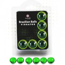 comprar SECRET PLAY SET 6 BRAZILIAN BALLS VIBRACIÓN MENTA