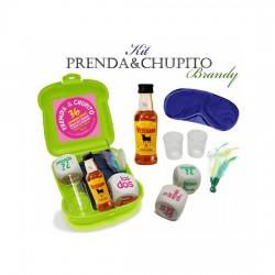 comprar KIT PRENDA Y CHUPITO BRANDY