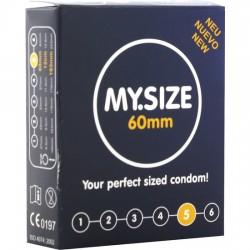 comprar MY SIZE PRESERVATIVOS 60 MM 3 UDS