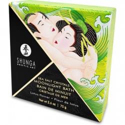 comprar SHUNGA CRYSTALS BATH SALTS LOTUS FLOWER 75G