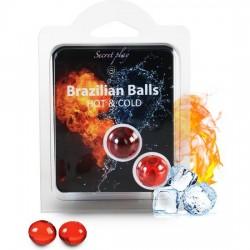 comprar SECRET PLAY SET 2 BRAZILIAN BALLS FRÍO/CALOR