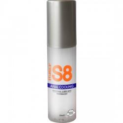 comprar S8 LUBRICANTE ANAL BASE DE AGUA EFECTO FRÍO 50ML