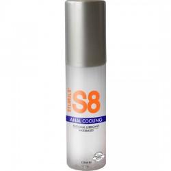 comprar S8 LUBRICANTE ANAL BASE DE AGUA EFECTO FRÍO 125ML