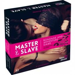 comprar MASTER SLAVE KIT BDSM PARA PAREJAS ROSA