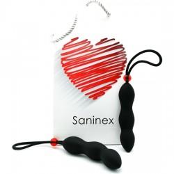 comprar SANINEX CLIMAX - PLUG CON ANILLO - NEGRO